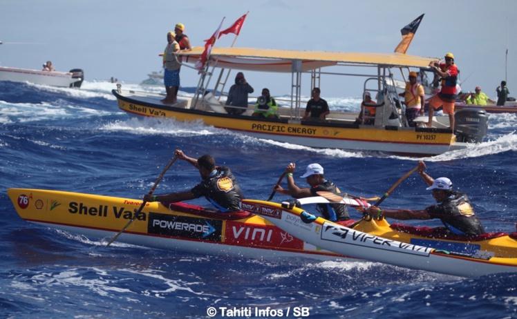 Shell Va'a était arrivé 2e en 2015