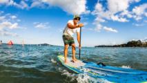 Surf/championnats de France: titres en stand up paddle longue distance pour Titouan Puyo et Olivia Piana