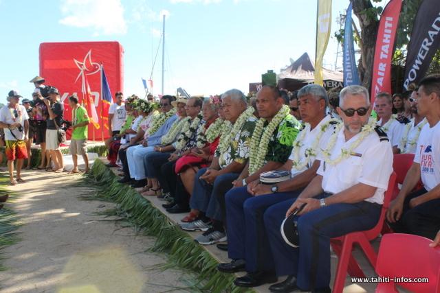 Huahine: La 25e édition de la Hawaiki Nui Va'a inaugurée