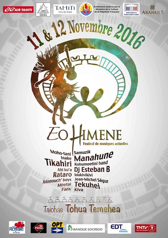 """Festival """"Eo Himene"""" : Nuku Hiva au rythme des musiques actuelles"""