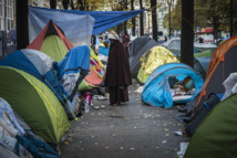 Campement de migrants de Paris: vers une évacuation record