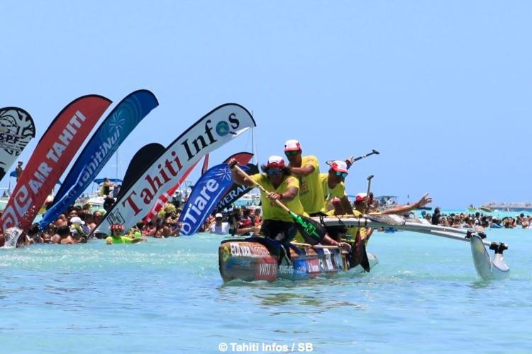 Edt Va'a gagne Hawaiki Nui Va'a pour la troisième fois d'affilée