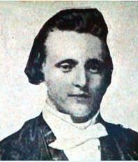 Le seul petit portrait de Thomas Baker dont nous disposons. Lorsqu'il a été immolé, il avait tout juste 35 ans.