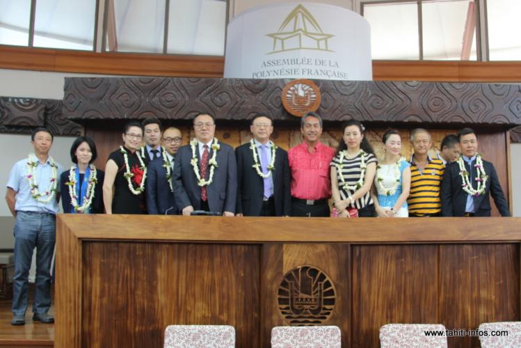 Une délégation de Shenzhen reçue à l'Assemblée