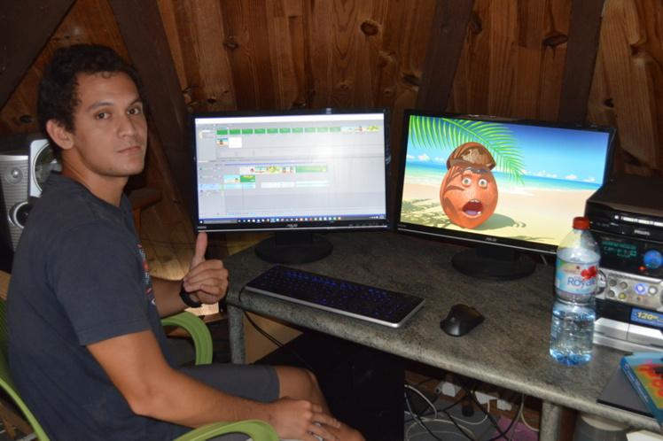 Deux Polynésiens participent au projet, dont ici Tuatea Schmidt.