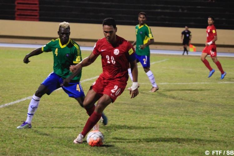 Alvin Tehau, le capitaine de la sélection