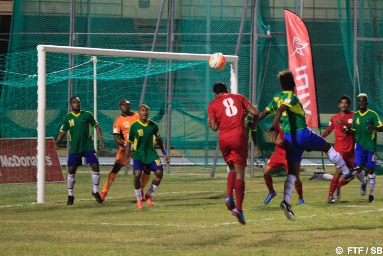 Tahiti a joué de manière très offensive tout au long du match