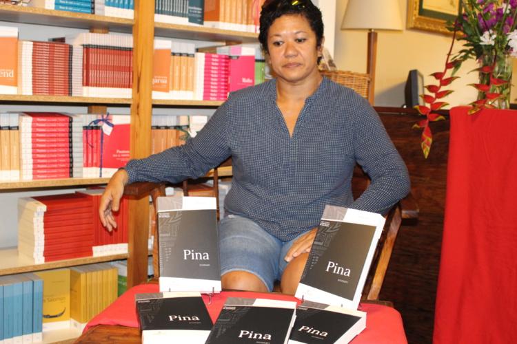 """""""Pina"""", deuxième round pour l'auteure Titaua Peu"""