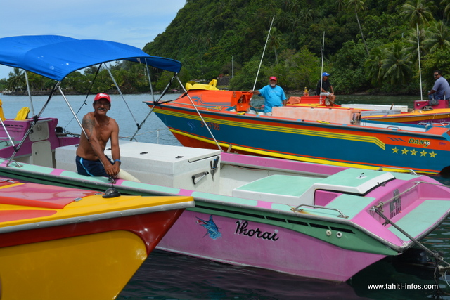 Les pêcheurs attendent la future marina.