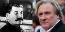 Fanny Ardant présente son nouveau film, avec Gérard Depardieu dans le rôle de Staline
