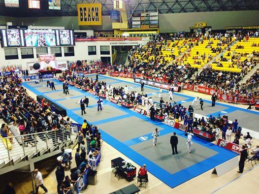 La compétition se déroule à Long Beach en Californie