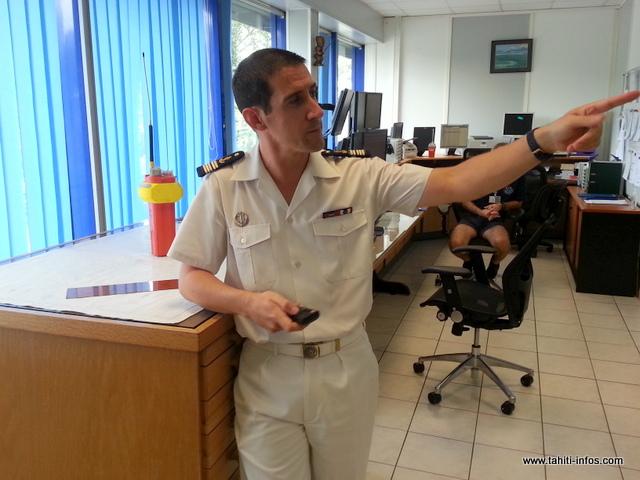 Clément Jacquemin, administrateur en chef des affaires maritimes et directeur du JRCC (centre de coordination de sauvetage aéro-maritime).