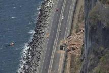 La Réunion : éboulements sur le principal axe de circulation