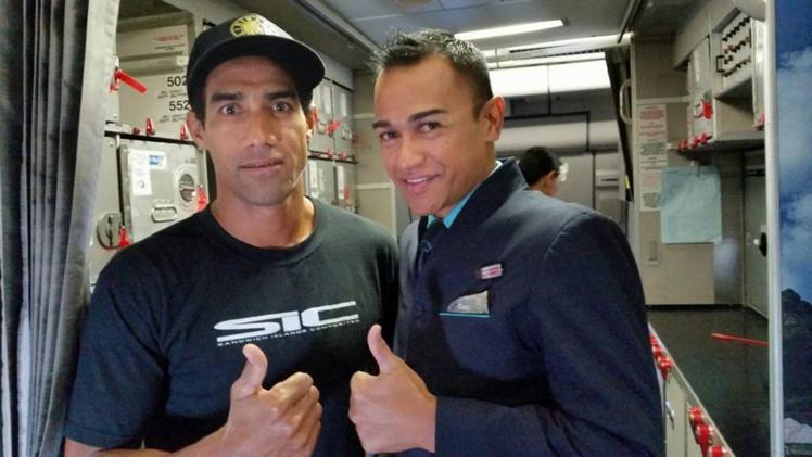 Georges Cronsteadt fait partie du programme Ambassadeurs d'Air Tahiti Nui depuis plusieurs années