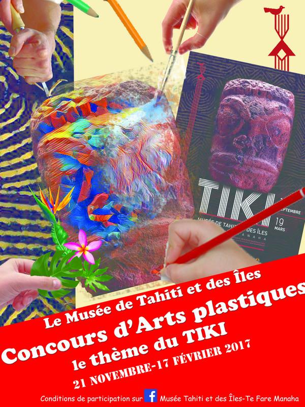 Un concours d'arts plastiques sur le thème du tiki sera également ouvert jusqu'au 17 février prochain.