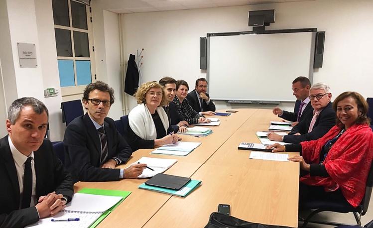 Education : Nicole Sanquer participe au dialogue de gestion à Paris