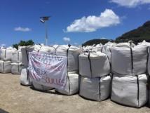 Le Pays autorise la vente des graviers de Hao bloqués à Rikitea