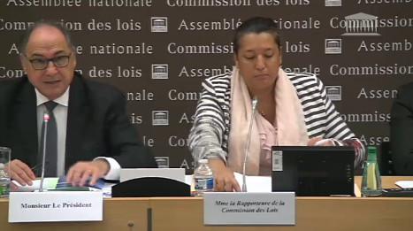 Maina Sage était le rapporteur de la proposition de loi de Lana Tetuanui en commission
