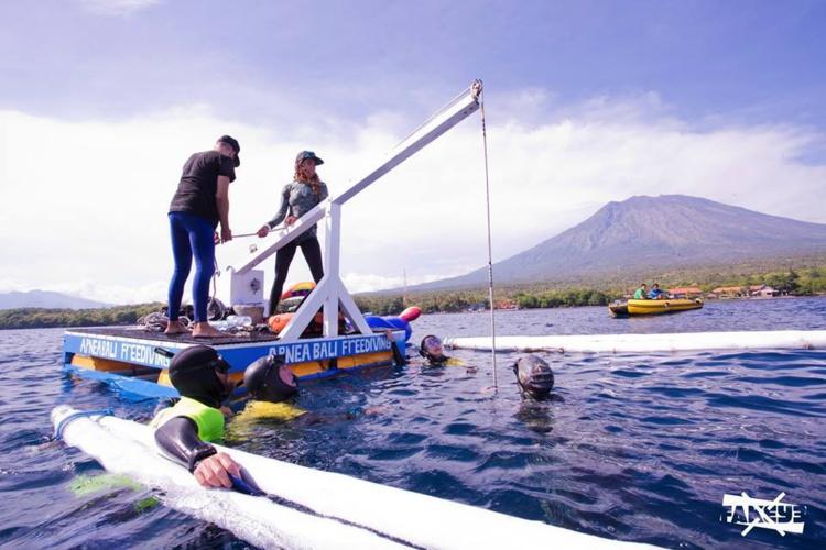 La compétition s'est déroulée à Bali, en Indonésie © Livio Fakeye