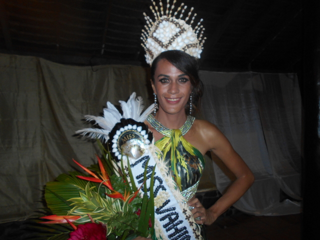 Tepoea Teikiteepupuni a été élue, samedi dernier, Miss Vahine Tane 2016.