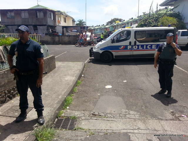 Opération paka et descente de police au quartier Vaitavatava