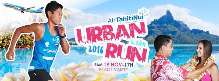 Course à pied : L'AirTahitiNui Urban Run, c'est ce samedi à Vaiete
