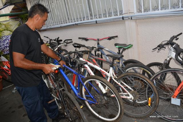 Vélos volés cherchent propriétaires
