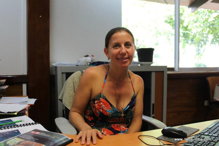 Maryline Dal Farra, conseillère en charge du tourisme.