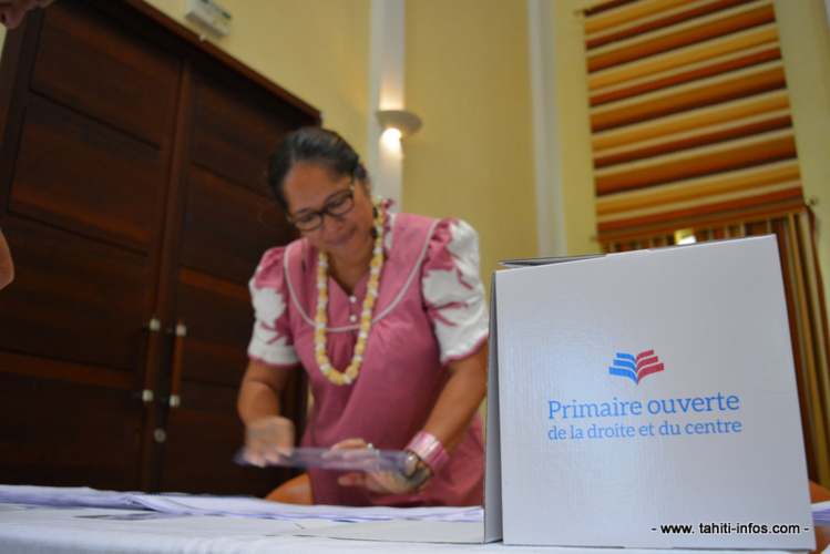 A Pirae, les électeurs étaient très nombreux.