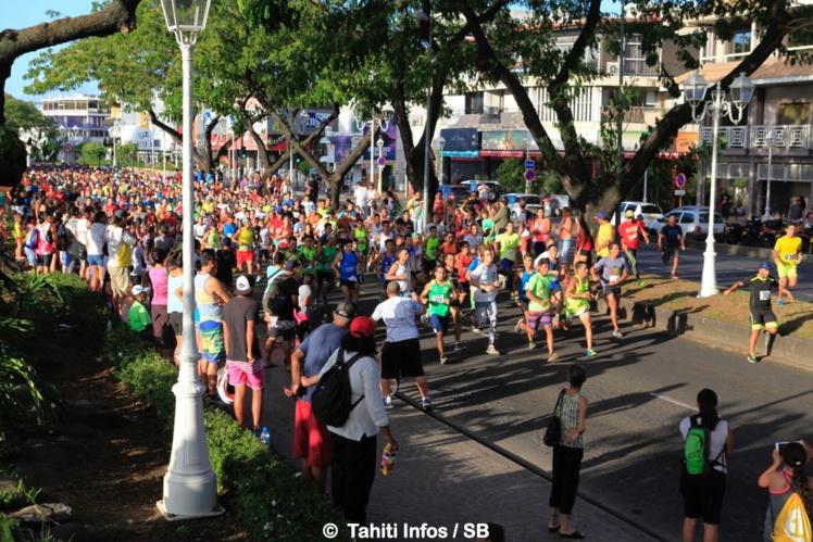 Record e participation batuu pour cette 3e édition de la Urban Run
