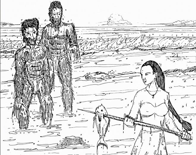 Légende de la sirène Orovaru de Rurutu