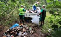On se mobilise pour l'environnement à Moorea