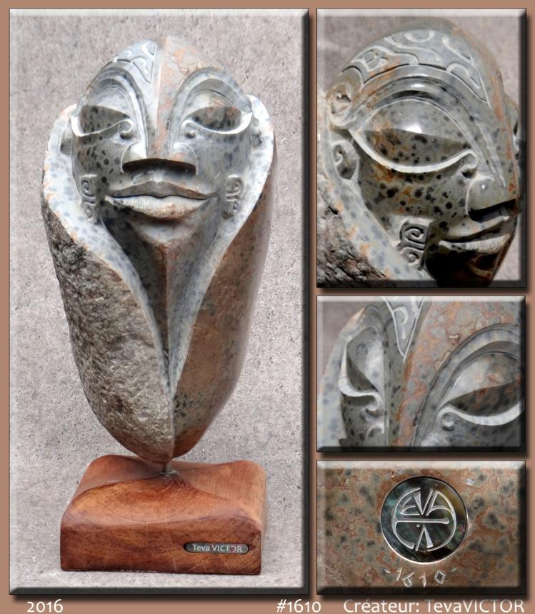 Les sculptures sont cette fois de taille moyenne afin de pouvoir être exposées à l'intérieur des fare.