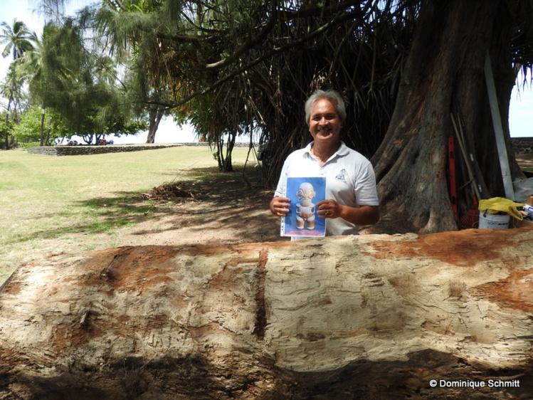 """Exposition """"Tiki"""" : conférences et sculptures """"in situ"""" au Musée de Tahiti et des îles"""
