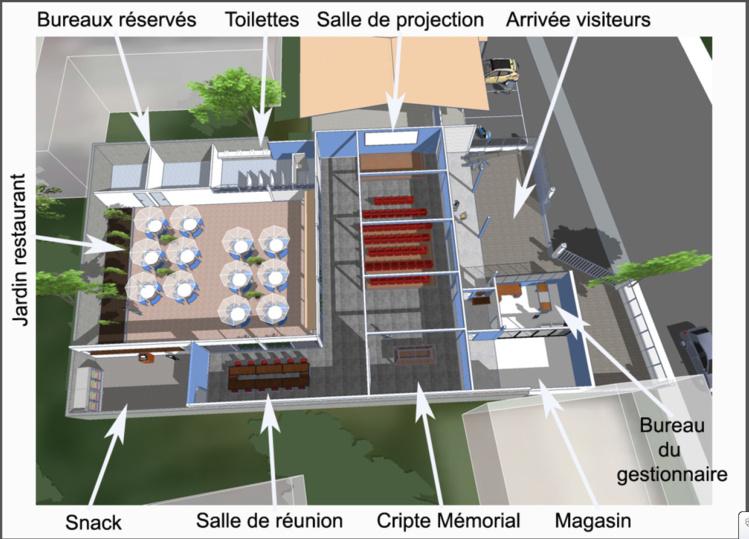 Les plans de la future Maison de la France libre
