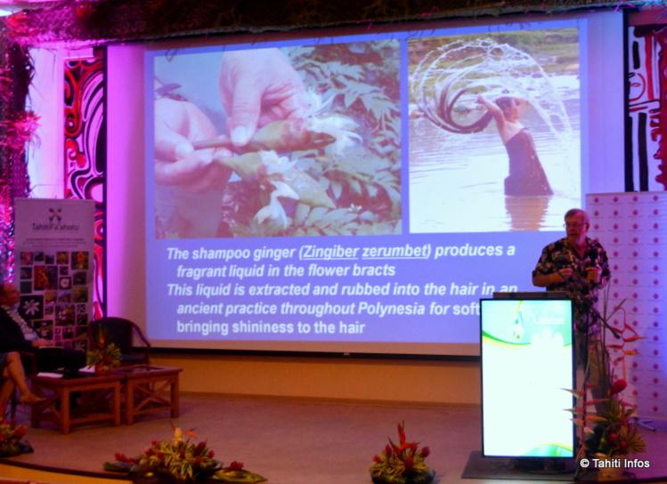 C'est parti pour trois jours de conférences par des spécialistes mondiaux des plantes cosmétiques, au lycée hôtelier.