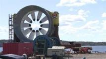 Canada: mise en service de la première usine marémotrice d'Amérique du Nord