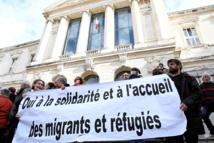 Un chercheur et un agriculteur au tribunal pour aide aux migrants venant d'Italie