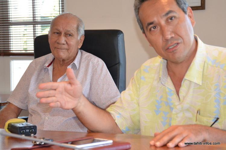 """Primaire à droite : Graffe et Tuihani sous """"contrat de mariage"""" à Paea"""