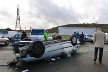 Intempéries: nombreux dégâts dans le sud-est, la Corse paralysée
