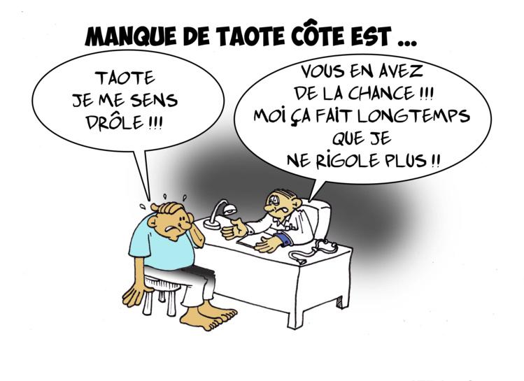 """"""" La pénurie des Taote """" par Munoz"""