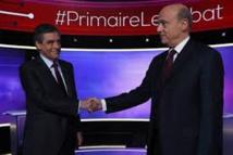 En duel télévisé, Fillon et Juppé affichent leurs désaccords mais évitent l'invective