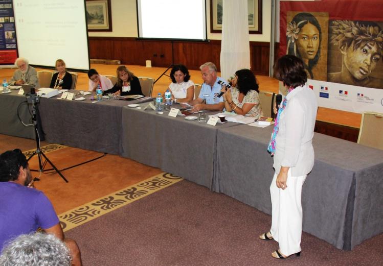 La question des violences conjugales a fait l'objet d'un atelier spécifique, cette semaine lors des assises de l'aide aux victimes et de la prévention de la délinquance en Polynésie française, organisées par l'APAJ.