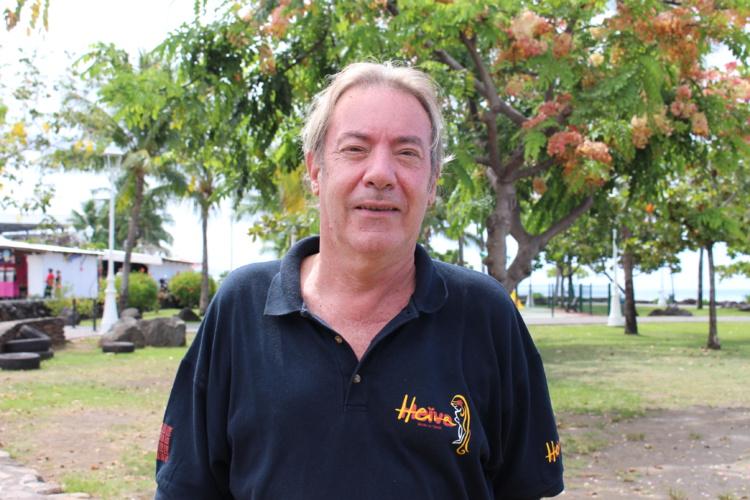 Philippe Maunier, président de la commission Export à la CCISM et fondateur de la savonnerie de Tahiti.