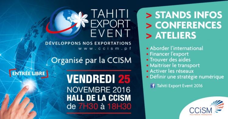 Au Tahiti Export Event 2016 : témoignages et conseils