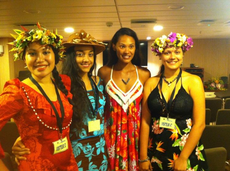 Hinarere Taputu, présidente du jury, a déjà réalisé les castings dans chacune des îles de l'archipel marquisien. (Photo : DR)
