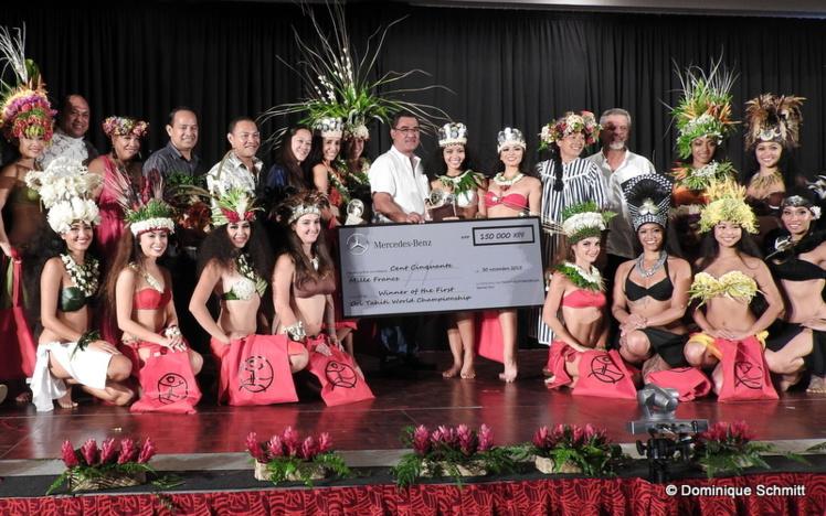 Le premier 'Ori Tahiti Nui World Championship a été remporté en 2015 par l'Américaine Melanie Amen.