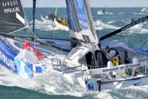 Vendée Globe - Armel Le Cléac'h en tête de la course, d'un souffle