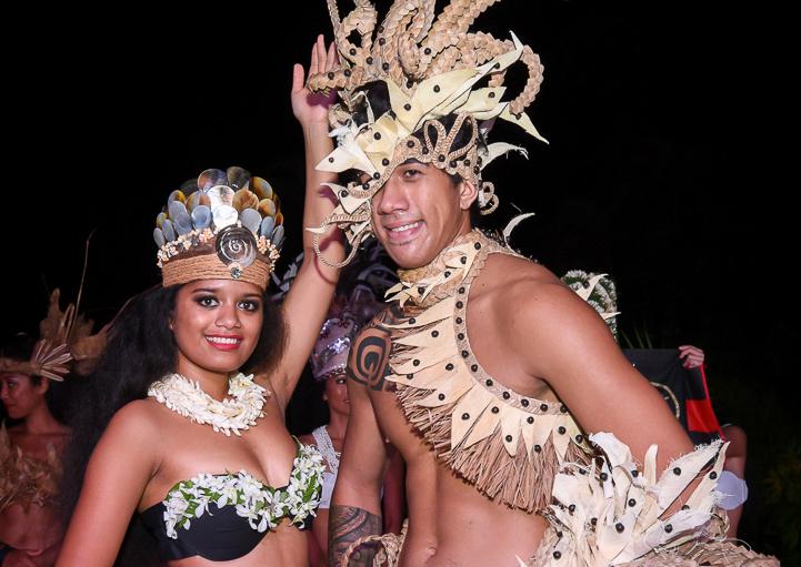 Les deux meilleurs danseurs du monde font tous les deux partie de la troupe Tahiti Ora.