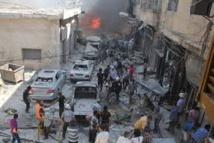 """Situation """"effrayante"""" à Alep-Est où les civils fuient l'assaut du régime syrien"""